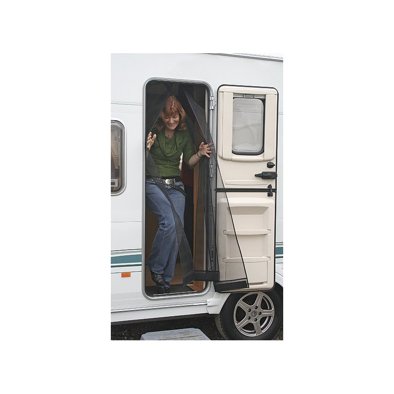 Caravan Kitchen Accessories: Caravan Door Fly Screen Curtain