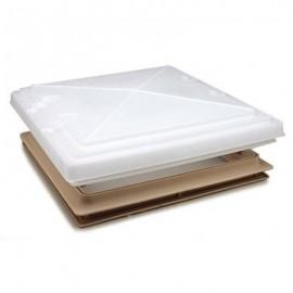 Rooflight Complete With Net - 400x400 - MPK Beige/Cream