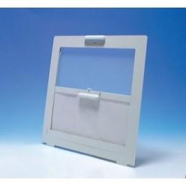 Rooflight Flyscreen & Blind - 400x400 - White