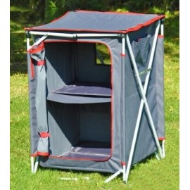 Crusader Three Shelf Camping Wardrobe
