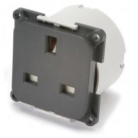 CBE 240v Mains Socket With Back Box