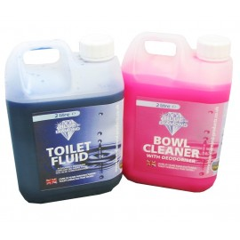 Blue Diamond Chemical Toilet Fluid Twin Pack 2L
