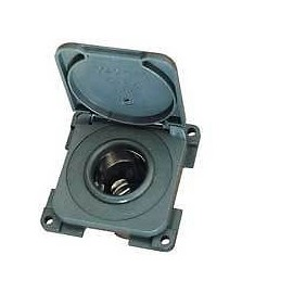 CBE 12v Cigar Type Socket With Cover Flap