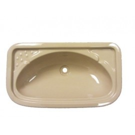 Bathroom Sink - Rectangular - Beige
