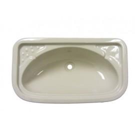 Bathroom Sink - Rectangular - Ivory