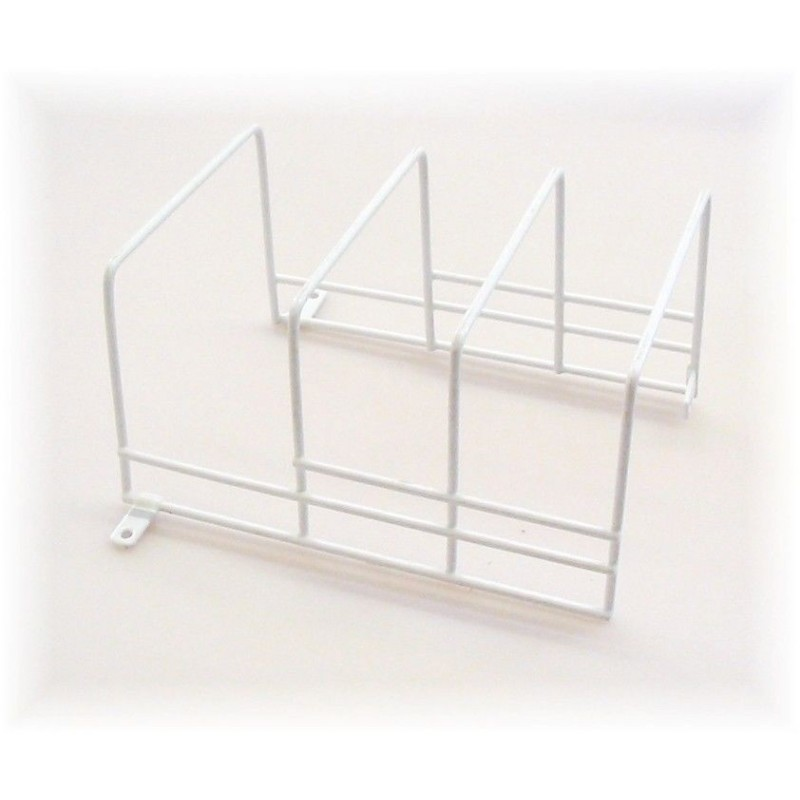 Caravan Kitchen Accessories: Coated Wire 3 Position Plate Holder