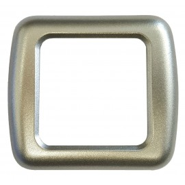 CBE Single Decor Frame Grigio Aluminio