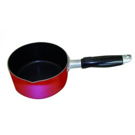 Quest leisure red non stick compact milk pan caravan Best non stick milk pan
