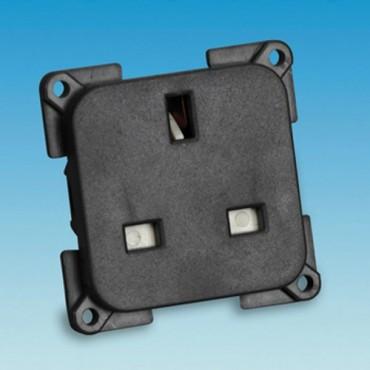 C-Line Black 240v Socket for Caravans & Motorhomes
