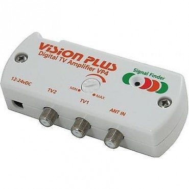 Vision Plus Digital TV Amplifier with Signal Finder VP4