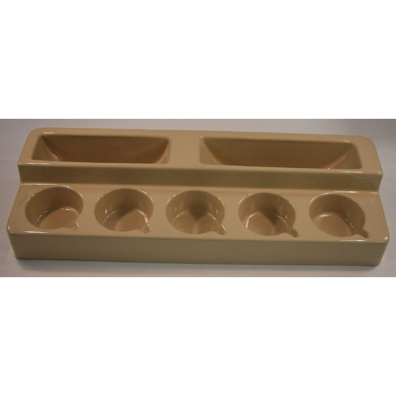 Caravan Kitchen Accessories: Caravan Motorhome Free Standing Cup And Plate Rack