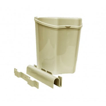 Caravan / Motorhome Plastic Removable Cupboard Door Waste Bin