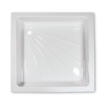 White Shower Tray For Caravan Or Camper Van