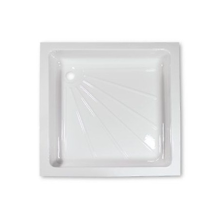 White Shower Tray For Caravan Or Camper Van