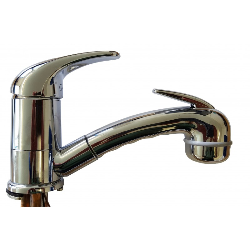 Comet Caravan Shower Mixer Tap With Retractable Hose