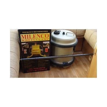 Milenco Cargo Retaining Bar 0.5 - 0.91m