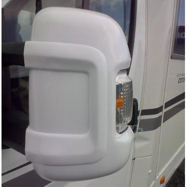 Milenco Motorhome Mirror Protectors - To suit Ducato, Boxer, Relay 2006+ - White