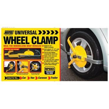 Maypole Universal Easy Fit Wheel Clamp
