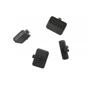 Milenco Aero Towing Mirror Replacement F Pads - Pack Of Four