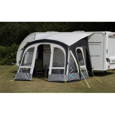 2018 Kampa Fiesta 350 Pro Air Inflatable Caravan Porch Awning