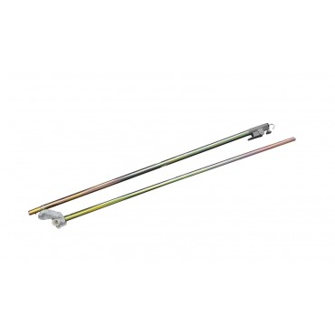 Caravan Awning Roof Pole With C Clamp End And Windlock Clamp