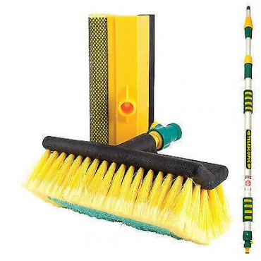Super-Long Luxury Extend Car Wash Brush & Squeegee Attachment