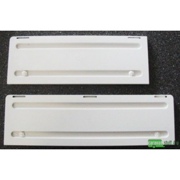 Dometic Caravan Fridge Vent Winter Covers - White