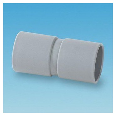 Caravan/Motorhome 28MM Waste Pipe Straight Connector