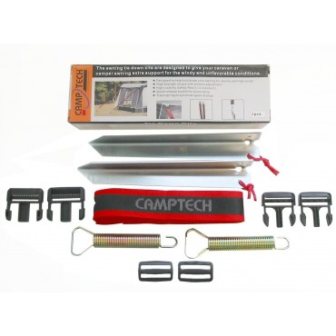 Camptech Awning Buckle Tie Down Kit