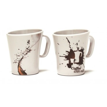 Melamine Drinking Mugs - Set of Two - Cremon
