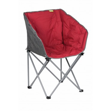 Kampa Tub Lightweight Folding Camping Chair- Red