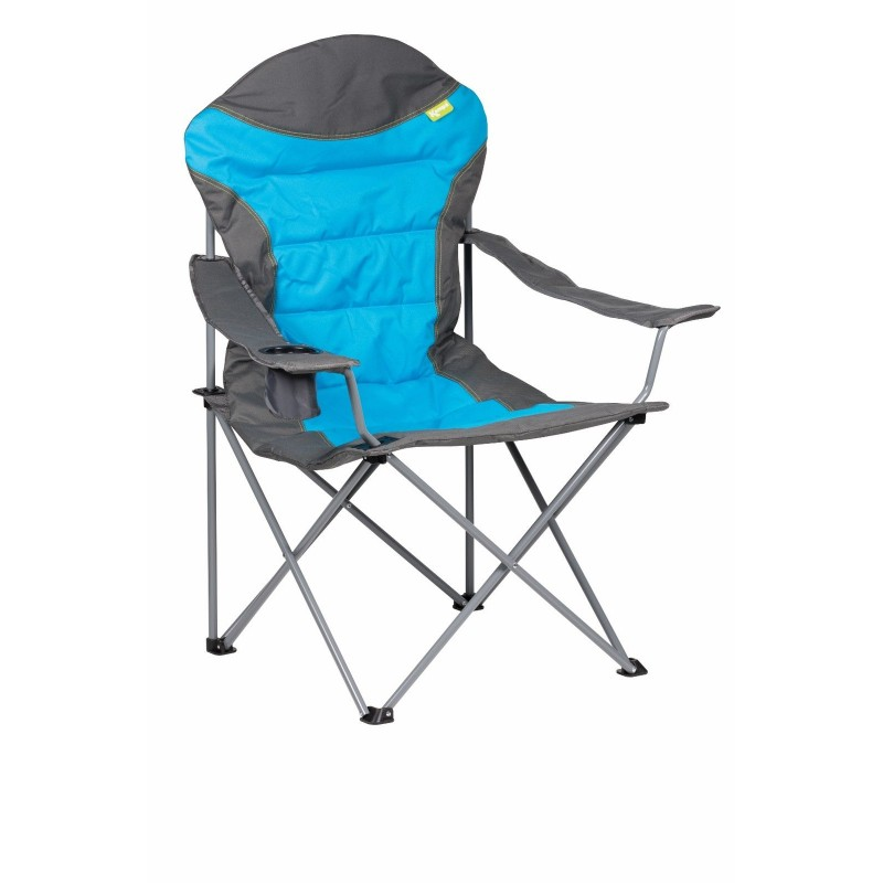 Kampa XL High Back Folding Camping Chair Blue Caravan Stuff 4 U