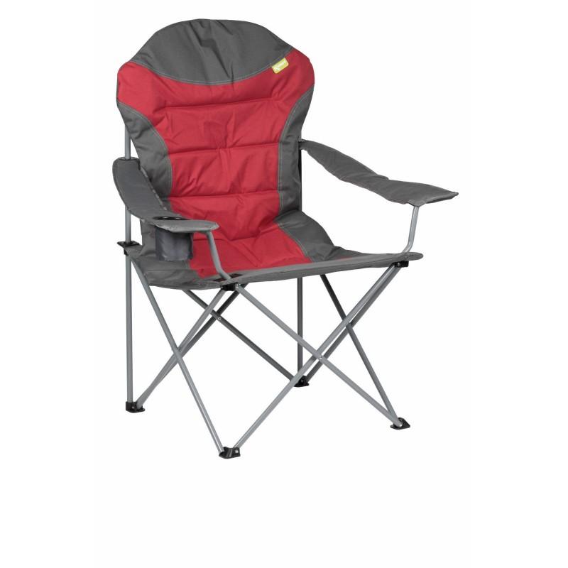 Kampa XL High Back Folding Camping Chair Red Caravan Stuff 4 U