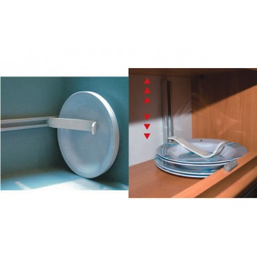 Fiamma Omni Stop Multi-Purpose Cupboard Plate & Dish Storage Holder