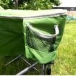 Crusader Comfort Extra Padded Folding Tub Camping Chair