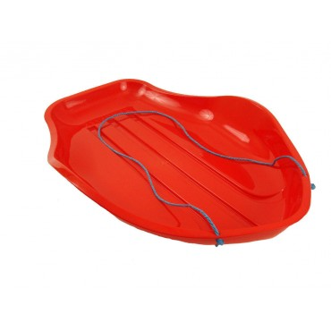 Large Red Stingray Snow Sledge Suitable For Adult Or Children