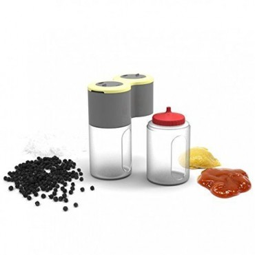 Salt, Pepper & Sauce Bottles & Shakers