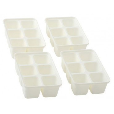 Metaltex Mini Ice Cube Trays - Pack Of Four
