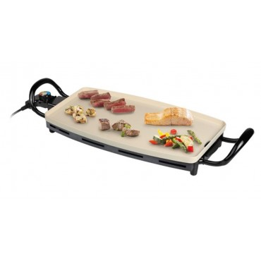 Quest Large Electric Healthy Grill Griddle Hot Plate 750w
