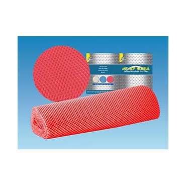 Caravan Home Car Anti Slip Mat Shelf Liner - Red - 3 Metres X 40cm