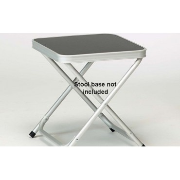 Isabella Lightweight Alloy Folding Camping Stool Table Top