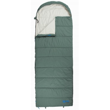 100% Cotton Lined Single Sleeping Bag - Kampa Kip Meridian Pro