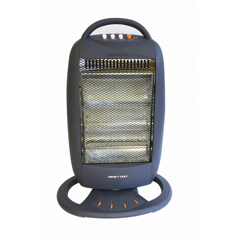 Low Wattage Electric Heaters Swiss Lux 3 Bar Electric Oscillating Halogen Heater - Low ...