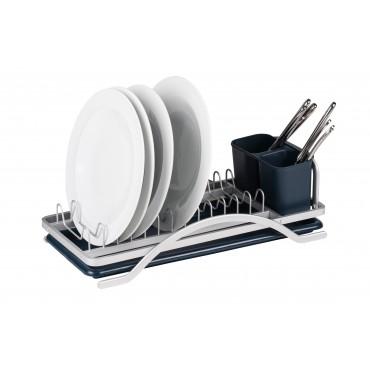 Aluminium Dish Drainer with Drip Tray