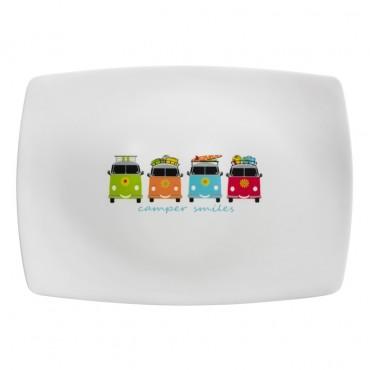 Melamine Sandwich / Dessert Platter - Camper Smiles