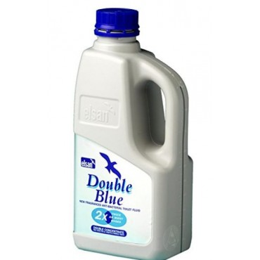 Elsan Double Concentrated Toilet Fluid - Blue -1ltr
