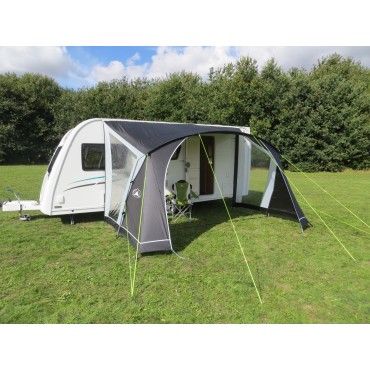 Sunncamp Swift 390 Caravan Door Sun Canopy