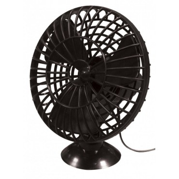 Streetwize Suction Mount 12v Car / Caravan Plastic Fan