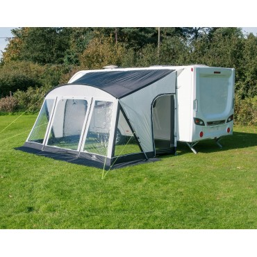 Sunncamp Swift 390 Deluxe Lightweight Poled Caravan Porch Awning