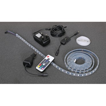 Quest LED 2.7 metre Awning Strip Light Starter Pack with Remote Control
